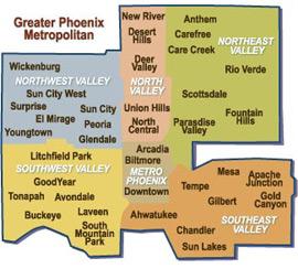 Phoenix AC Installation Service Area